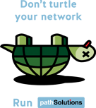 upside down turtle, don't turtle your network
