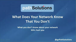 webinar What Does Your Network Know