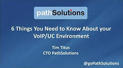 webinar 6 Things VoIP UC Environment