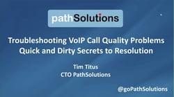webinar VoIP Call quality secrets