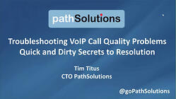 webinar VoIP Call quality secrets