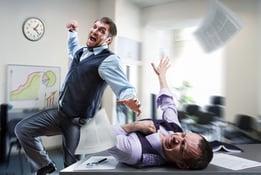 fighting office guys