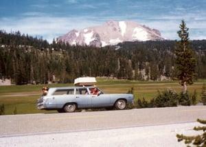 photo station wagon, copyright I. Rowley