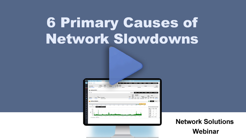 Network Slowdowns video - play