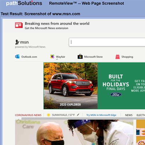 RemoteView Web Screenshot